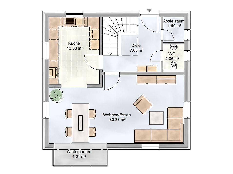 Exclusiv massivhaus gmbh for Toskana haus grundriss